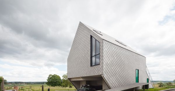 Leeuw House by Nu Architectuuratelier AweDesign Pinterest