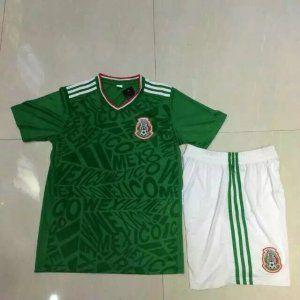 Mexico National Team 2017 Home Soccer Kit J446 Mexico Soccer Jersey Soccer Kits Mexico National Team