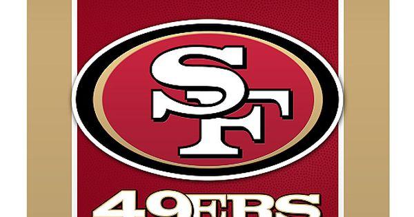 San Francisco 49ers Logo 17 Home Decor Pinterest San