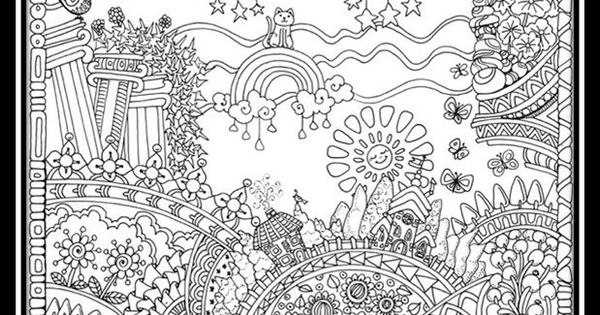 Imagenes-para-colorear-paisajes-para-adultos
