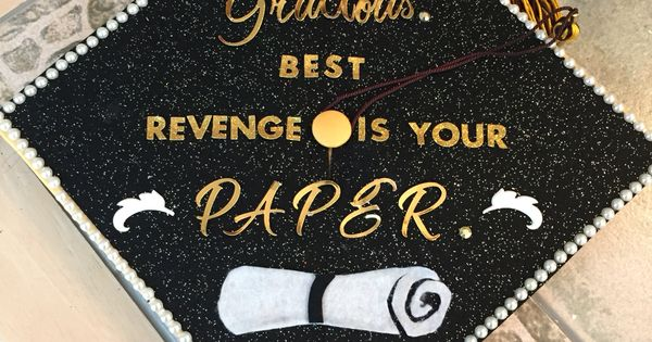 Decorated Graduation Cap With Beyonce Quote Senior