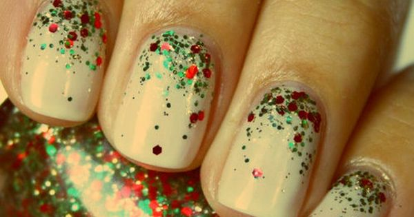 Christmas Nails- China Glaze no longer makes this polish, which made me