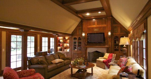 Tudor home interior design elements for the home for Craftsman interior design elements