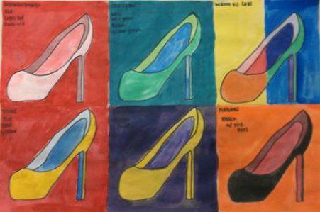 Painting 1 Color Scheme Project Monochromatic Analogous Warm