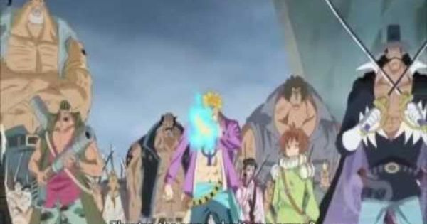 Whitebeard Pirates Save Luffy Youtube One Piece Anime