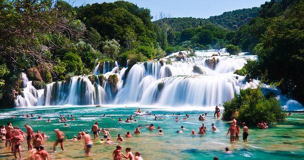 Skradinski Buk, Krka National Park, Croatia