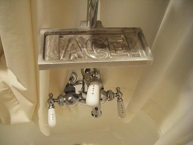 Look Riser Mounted Claw Foot Tub Shower Caddy With Images