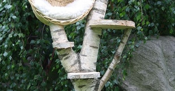 kratzbaum katzenbaum katzenh hle natur katze von. Black Bedroom Furniture Sets. Home Design Ideas
