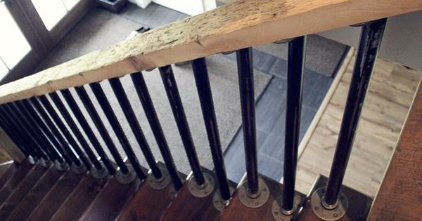 Reclaimed Wood Handrail Stairs Railings Banisters