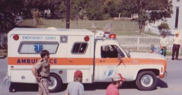 Police Vehicles Early Frisco Fire Department Ambulance