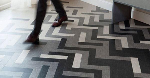 Amtico's Cirrus tile in vinyl in Twilight, Dawn, and Air ...