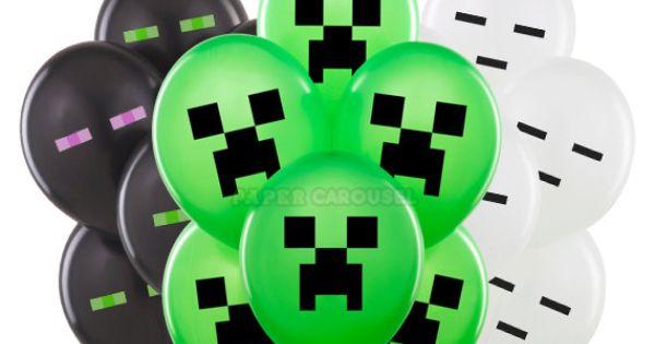 Minecraft Mob Balloons