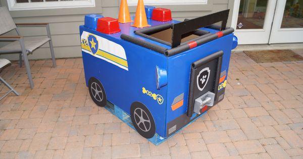 Chase S Paw Patrol Car Paw Patrol Party Pinterest