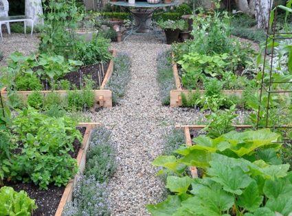 Vegetable Garden Raised Beds Veggies
