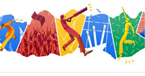 Cricket T20 World Cup Finals Day Honoured By Google Doodle Google Doodles Cricket World Cup
