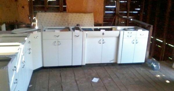 Awesome Vintage Metal Kitchen Cabinet