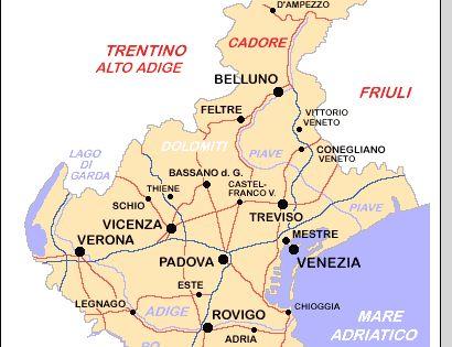 Cartina Dell Italia Veneto.Artdreamguide Veneto Carta Geografica Veneto Mappa Veneto Carte Geografiche Geografia Mappa