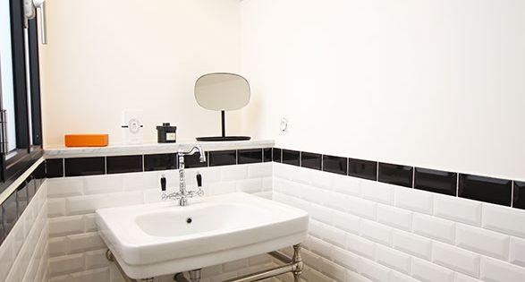 Salle de bain retro - Atelier Joseph - Carreaux de ciment ...