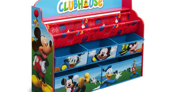 Mickey Mouse Deluxe Book Amp Toy Organizer Liam S Mickey