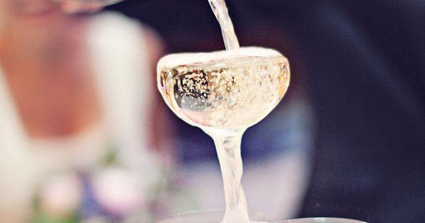 Champagne fountain!
