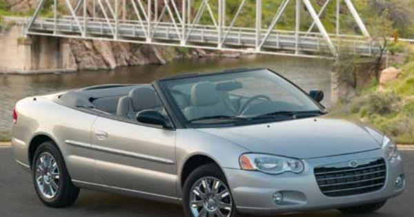 2006 Chrysler Sebring Convertible Base Chrysler Sebring Sebring