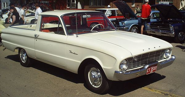 1960 Ford Falcon Ranchero. Where Ford started making utes ...