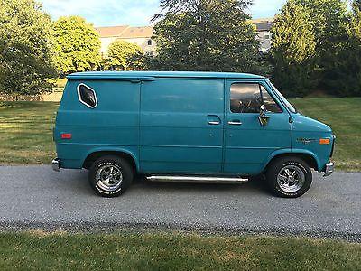 Chevrolet G20 Van G10 Van Gmc Vans Chevy Van