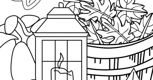 Thanksgiving Coloring Page 5 Coloring