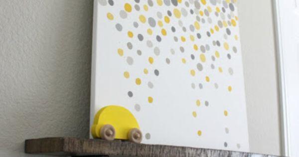 DIY Home Decor: DIY Wall Art... Different colors maybe?