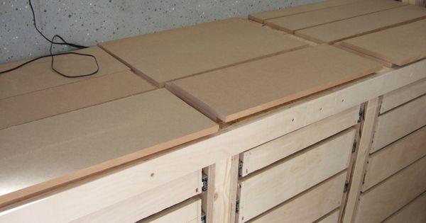 Schubladenschrank Fur Werkstatt Schubladenschrank Werkstattschranke Werkbank Selber Bauen