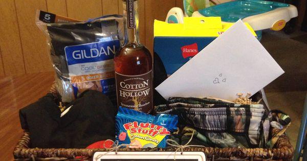 Second Wedding Gift Basket Ideas :
