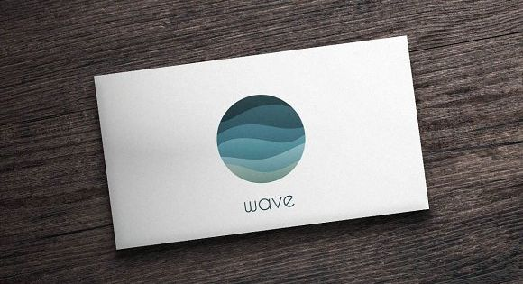 Wave Logo – liquid inspired