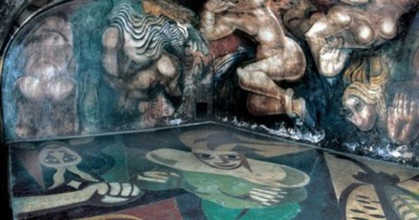 Mural siqueiros en su lugar original pintura pinterest for El mural de siqueiros en argentina