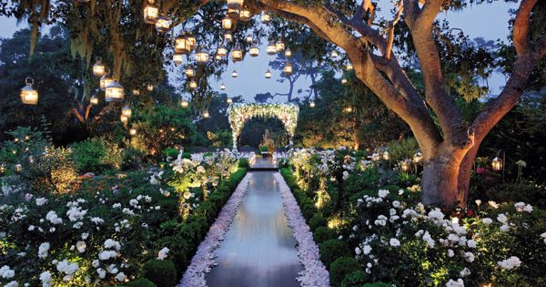 This enchanted garden wedding is ultra-romantic