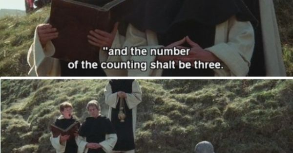 monty python and the holy grail essay 'monty python and the holy grail'' you are to conduct a review on the film 'monty python and the holy grail'paying particular attention to how the audience perceivesvarious components of comedy through out the film'as with the subsequent python films a.