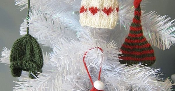 Pinterest Crafts Christmas Tiny Mittens And Hats