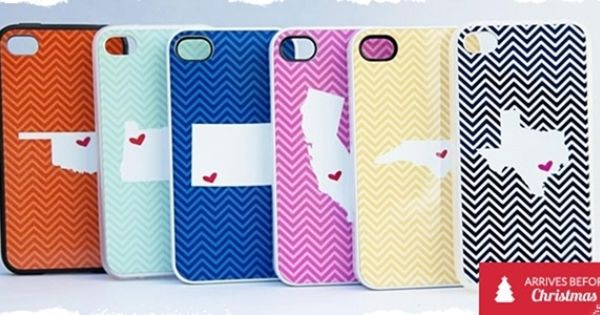 Chevron State Love Phone Cases