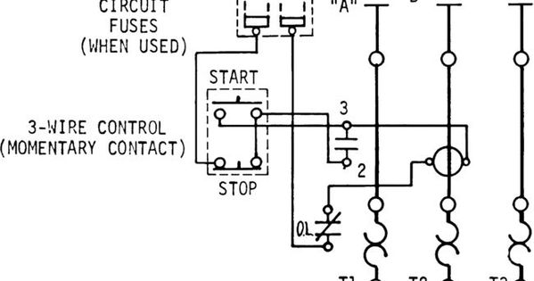 3 Wire Start Stop Wiring Diagram Elec Eng World Wire Diagram Circuit
