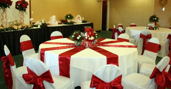 Christmas banquet ideas for church decoration
