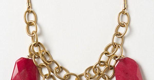 Anthro Fairburn Necklace
