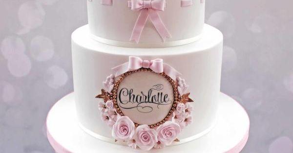 Princess Christening cake by Kelly Cope Cakes & Cake ...