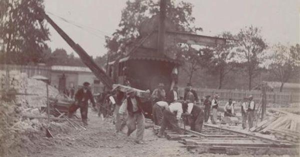 1898 et 1899 construction de la gare et du quai de la gare for Quai d orsay metro