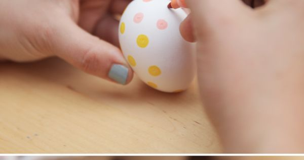 Easy Easter Idea: Sharpie Eggs!