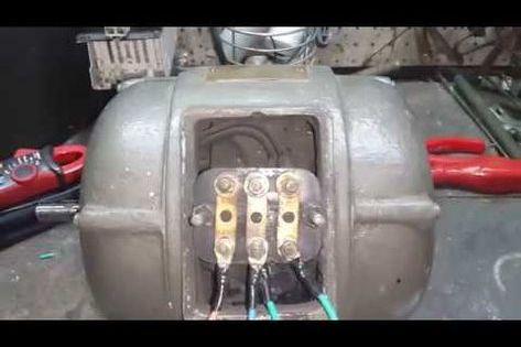Como Hacer Funcionar Un Motor Trifasico Como Monofasico Youtube Electricidad Y Electronica Motor De Lavadora Motor Trifasico