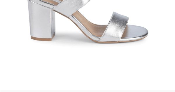 Erica Metallic Block Heel Sandals | Products in 2019 | Block