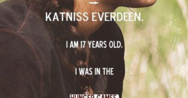 Katniss Everdeen~ The Hunger Games