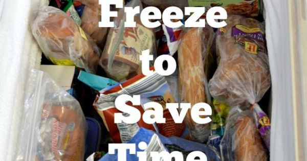 50 Things to Freeze to Save Time and Money | Discover more ideas about Frugal and Paths