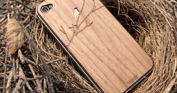 { Wood iPhone Case Handcrafted in Portland, Oregon }