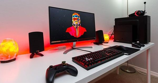 Pc Builds And Setups Commandreset With This Ultrawide Setup I See A Lot Of Ultrawides Lately It S Getting A Gaming Room Setup Video Game Rooms Room Setup