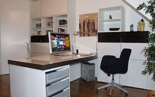 look ikea besta workstation hack ikea hack desk work. Black Bedroom Furniture Sets. Home Design Ideas